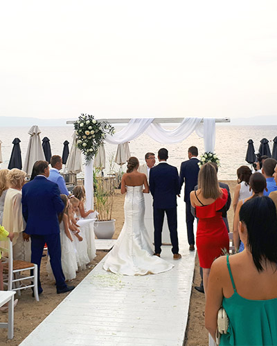 get married in chalkidiki